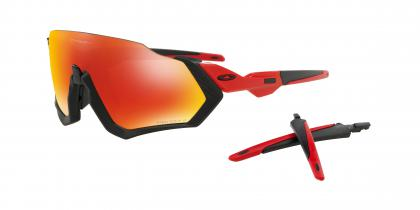 Redline Matte Black with Prizm Ruby Polarized