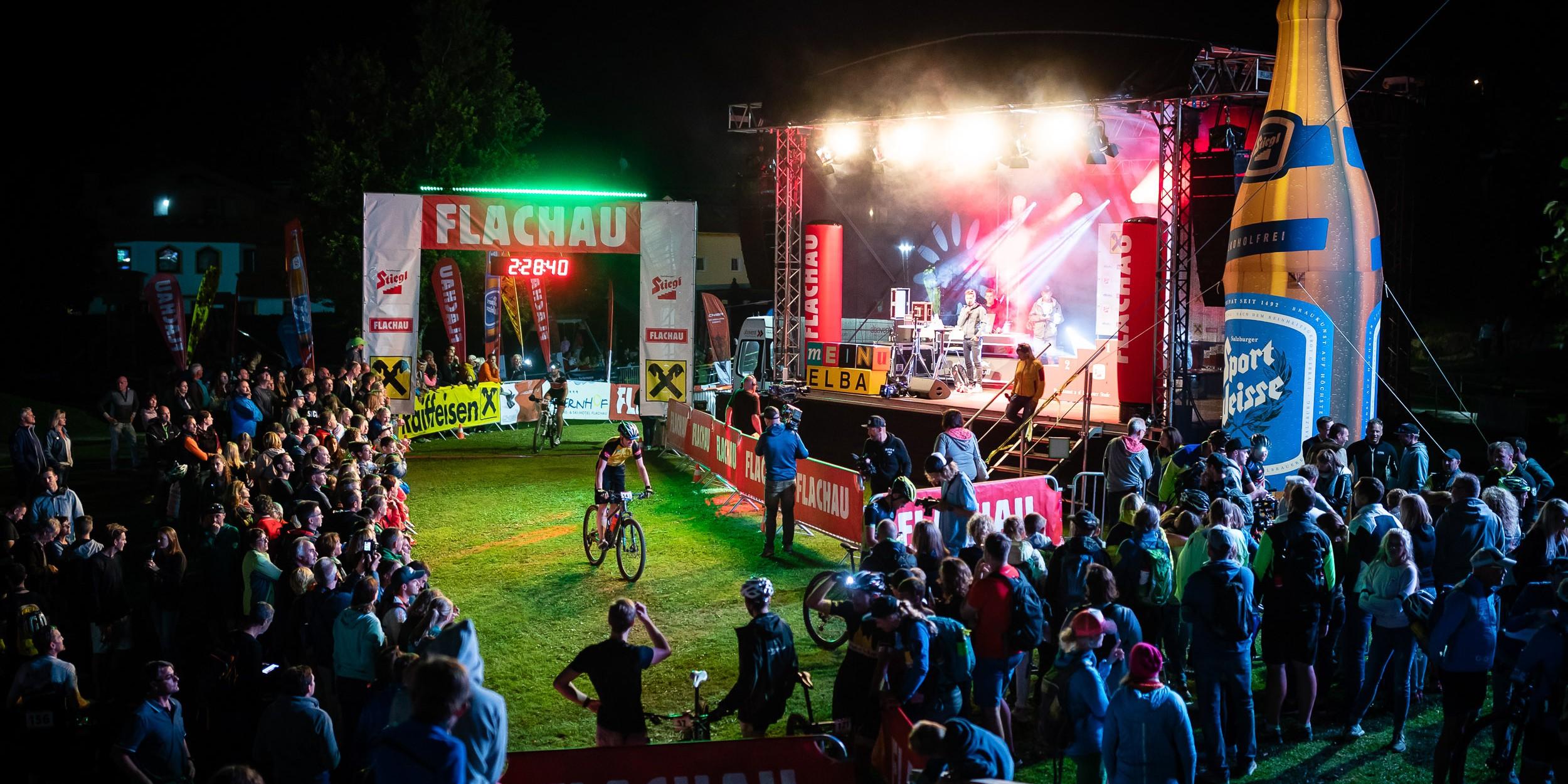 Bildbericht Bike Night Flachau 2018