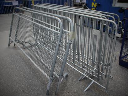40 Kilometer Gitterabsperrungen gibt es bei der UCI Straßenrad-WM 2018.
