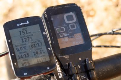 24 km, 640 hm mit 47% Akku