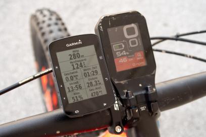 28 km, 470 hm mit 46% Akku