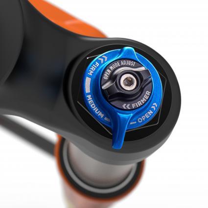 Fit4 2- oder 3-Pos Dämpfer in der Factory-Variante, Grip Dämpfer für die Performance Serie.