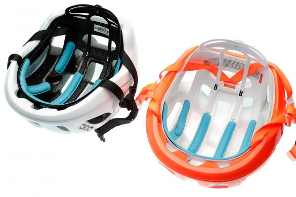 Beide Ventral-Helme teilen sich das gleiche Einstellsystem, die Träger und das SPIN.
