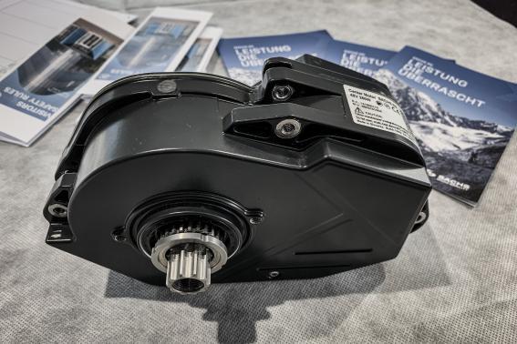 48V Motor mit 110 Nm und 700 Watt