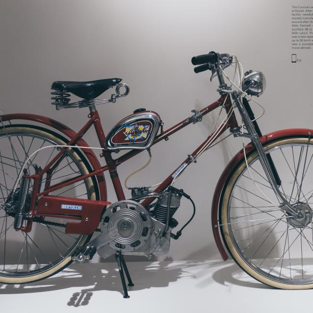 1946–1956: Ducatis erste Fahrräder mit Motorunterstützung lauteten auf den Namen Cucciolo
