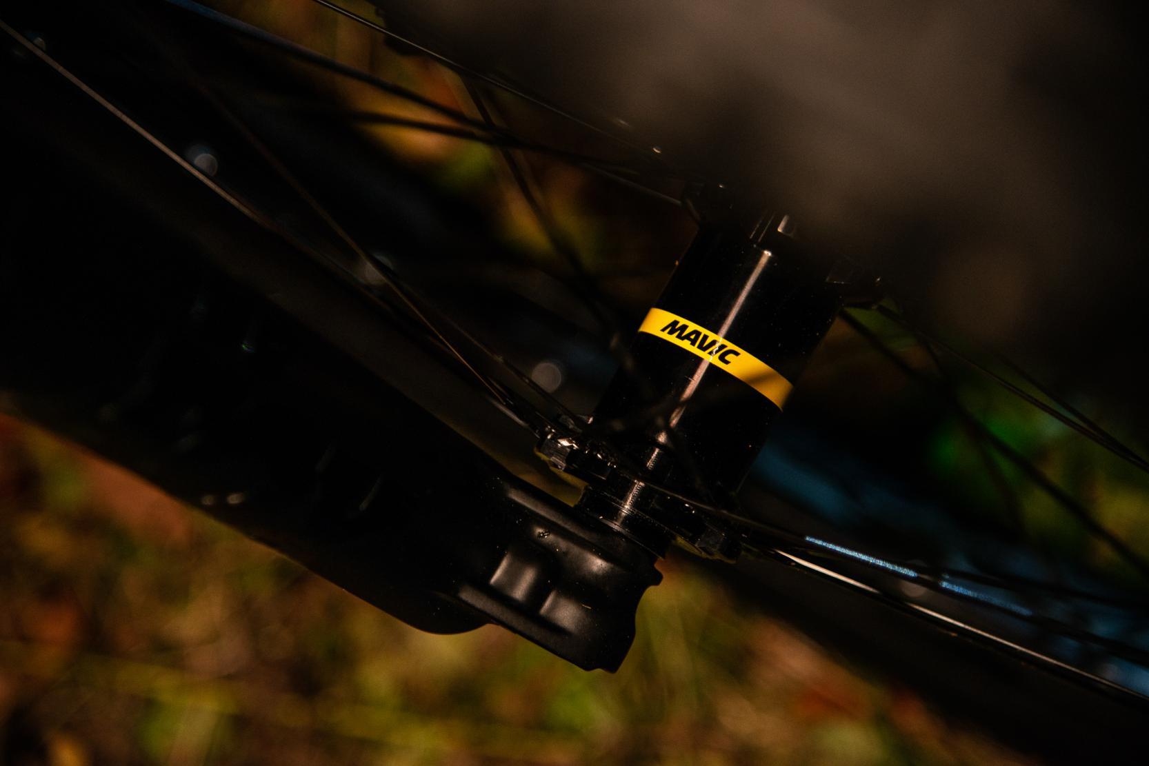 Die Laufräder von Mavic stellten sich in Tests als sehr stabil heraus