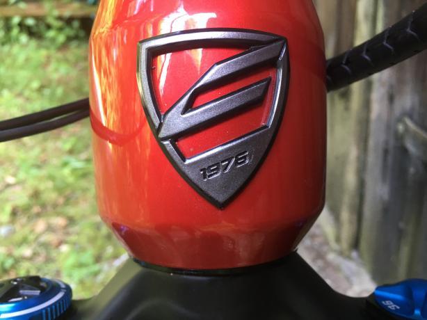 Neues Bike, frisches Logo.