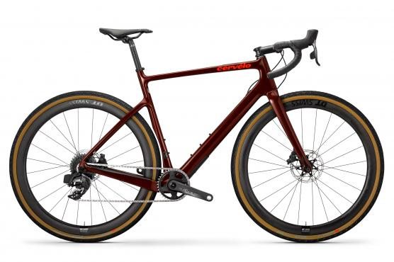 Disc Force eTap AXS  - Burgundy/Dark Orange€ 5.999,-