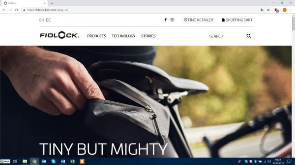 Fidlock mit eigenem Webshop