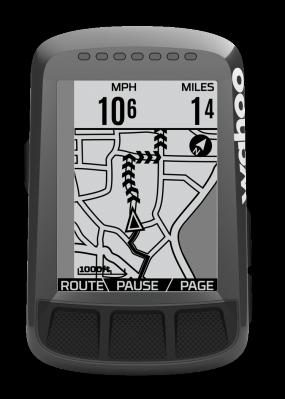 Wahoo Elemnt Roam CarDetection