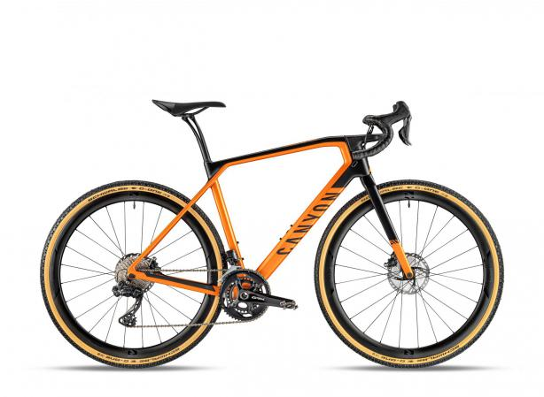 Canyon Grail CF SLX 8.0 Di2 in Forrest Orange. 4.599 Euro