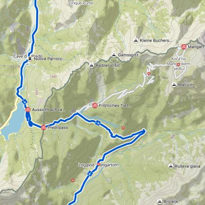 ... wie Radwegen, Aussichtspunkten, Gipfeln, Pässen uvm.