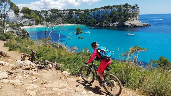 Mountainbiken auf Menorca