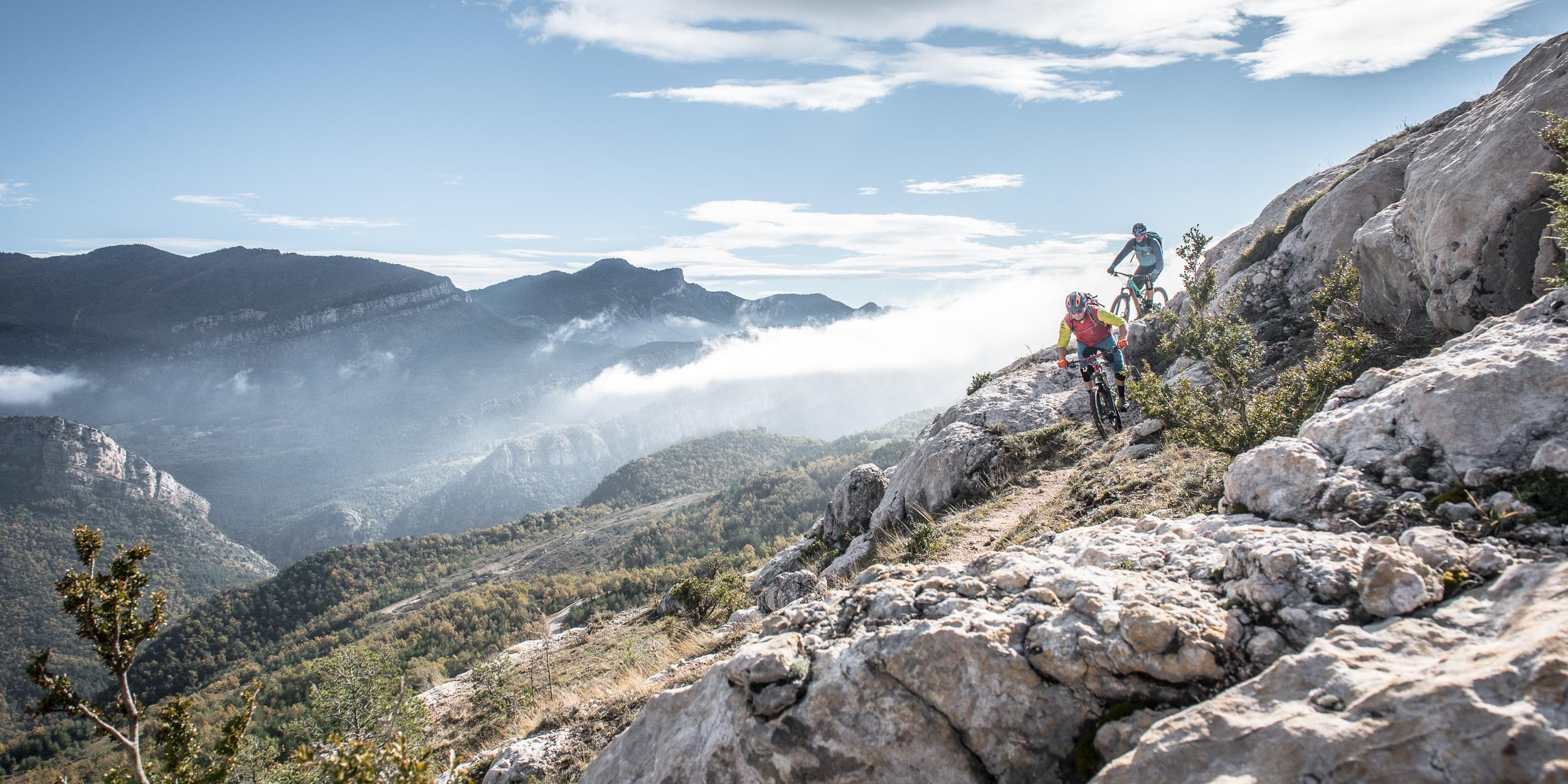 Mountainbiken in den Pyrenäen
