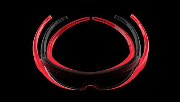PPX: Sämtliche Evil Eye Modelle werden exklusiv aus dem ultraleichten, extrem robusten und trotzdem flexiblen PPX-Material gefertigt. Es garantiert einen rutschfesten, druckfreien und sicheren Sitz.