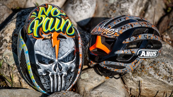 Abus Gamechanger und Airbreaker mit Custompainting