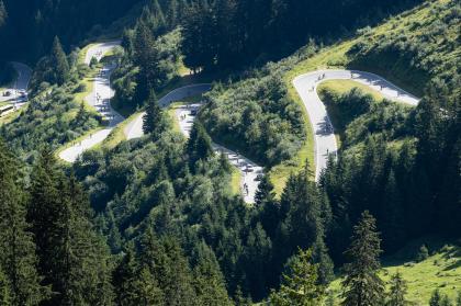 die Silvretta Hochalpenstraße oder