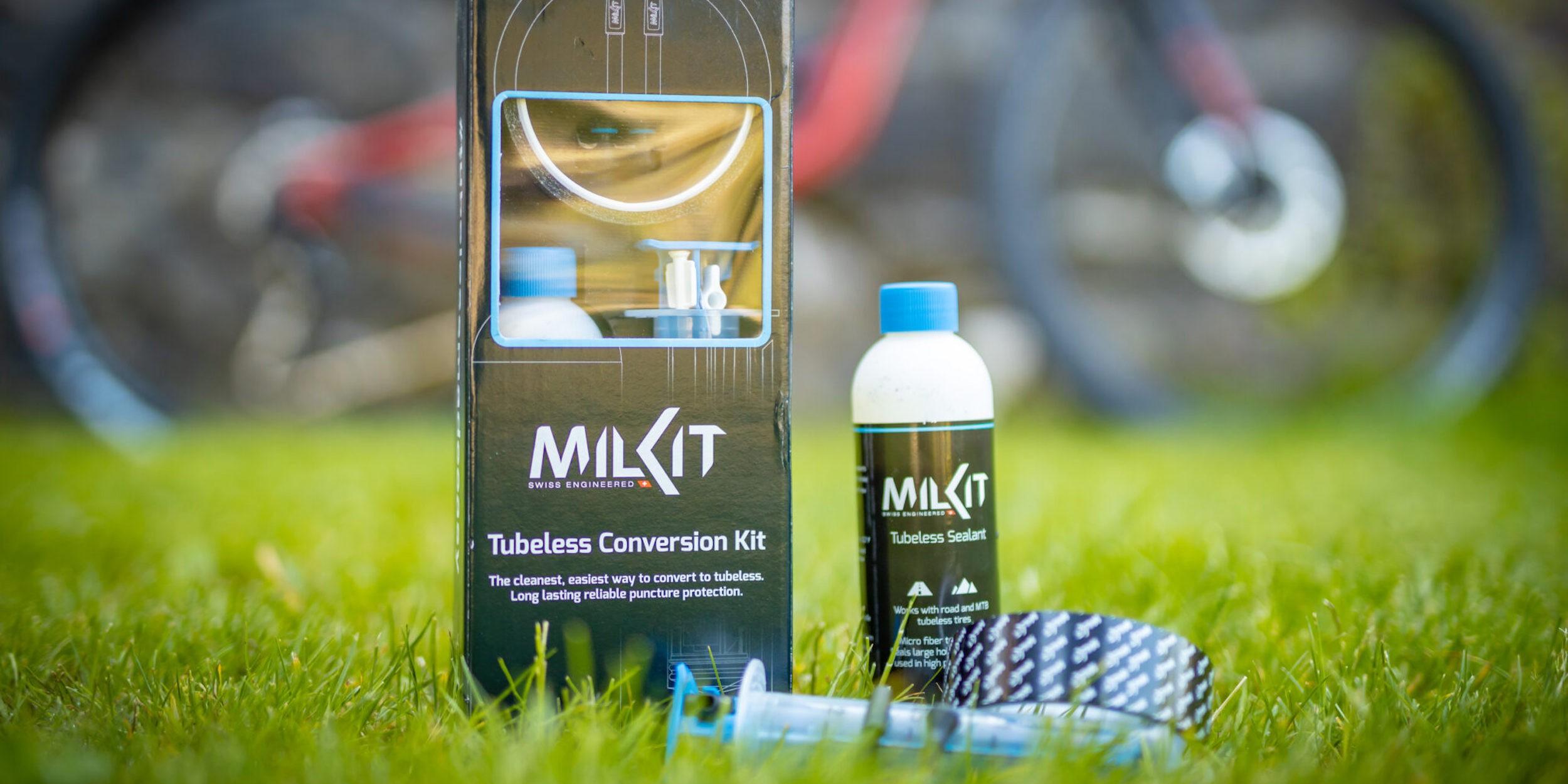 Milkit Felgenband und Tubeless Conversion Kit