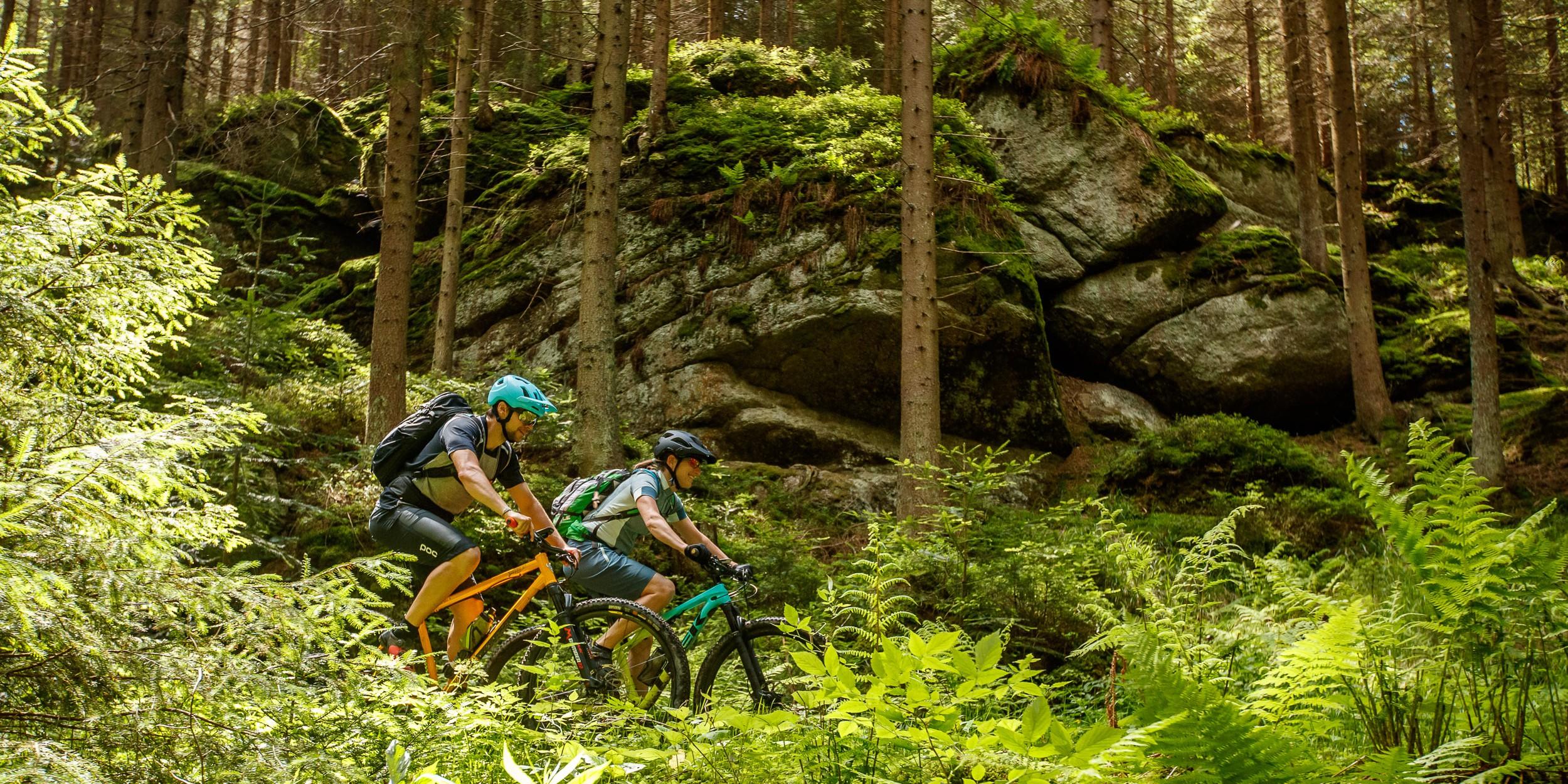 Unterwegs am Waldviertler Granittrail