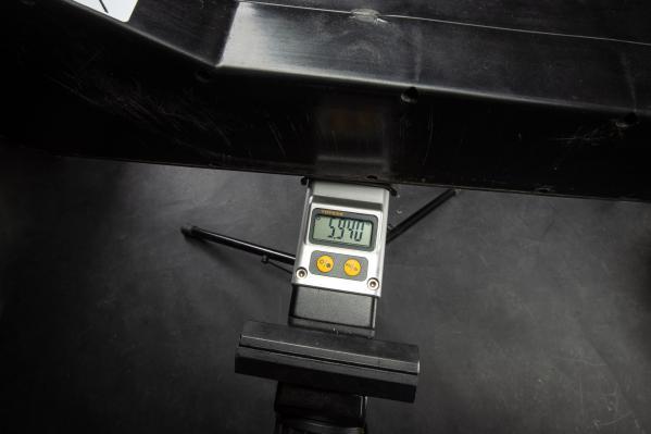 Akku-Gewicht ergibt mehr, als die BB-Waage fassen kann!