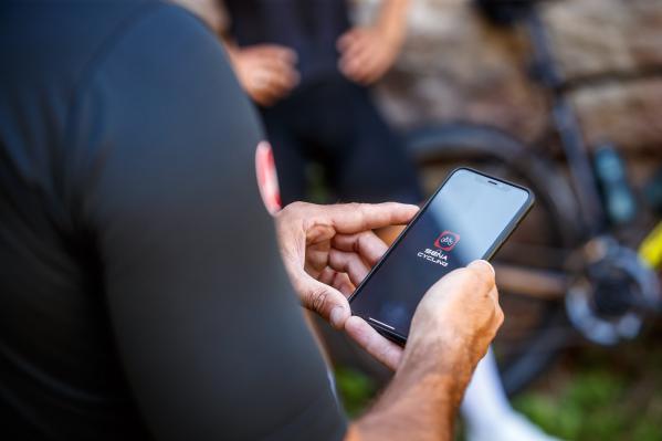 Sena Cycling App starten