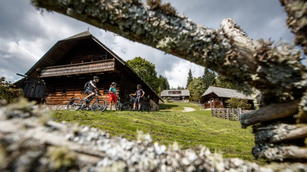 In der E-Bike Region Mürztal