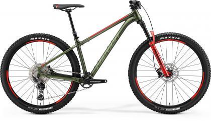 Big.Trail 600 Matt Green/Silver-Red-Green € 1.599,-