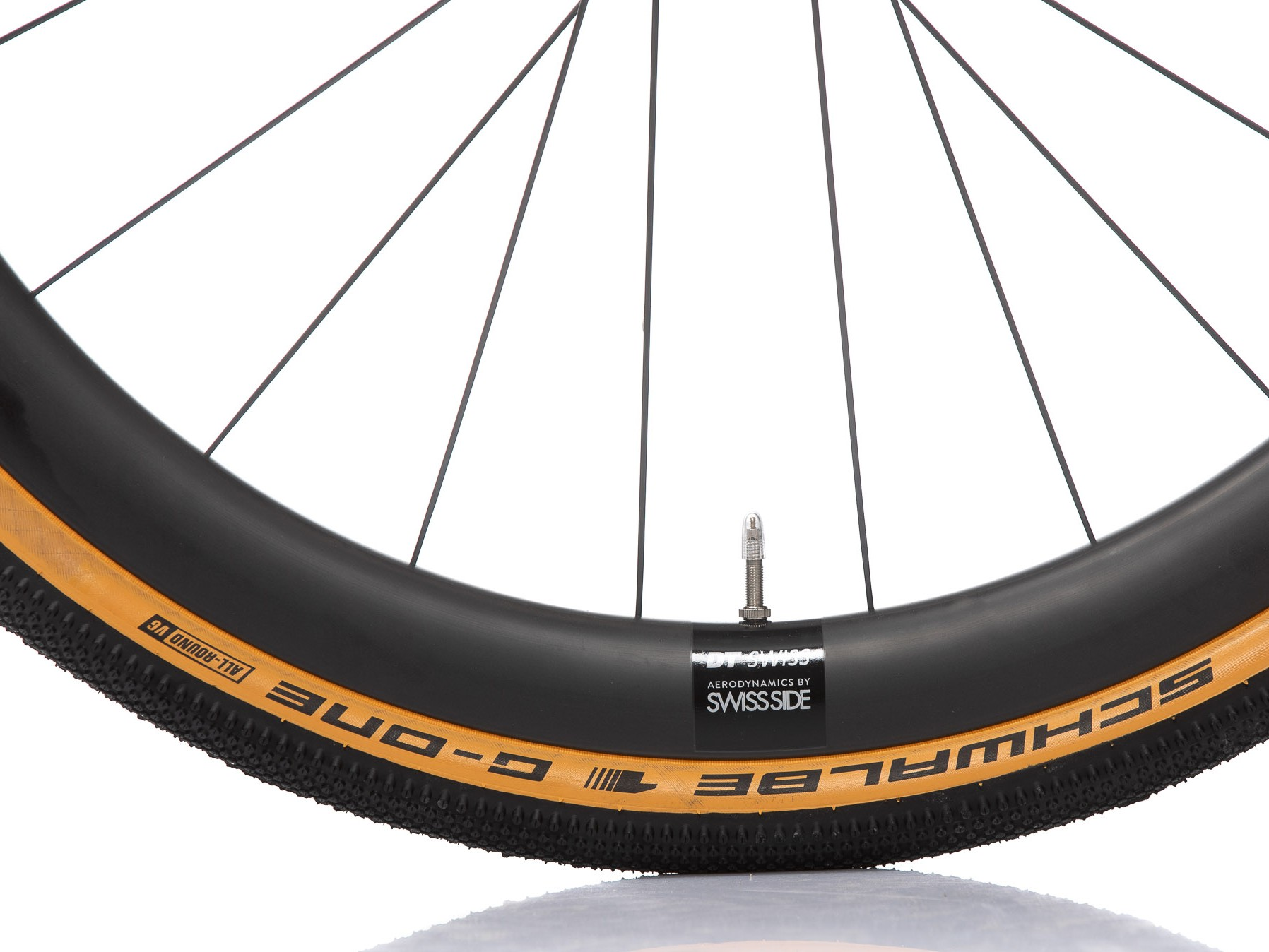 DT Swiss GRC 1400-42 mit Schwalbe G-One Allround in der Dimension 40-622