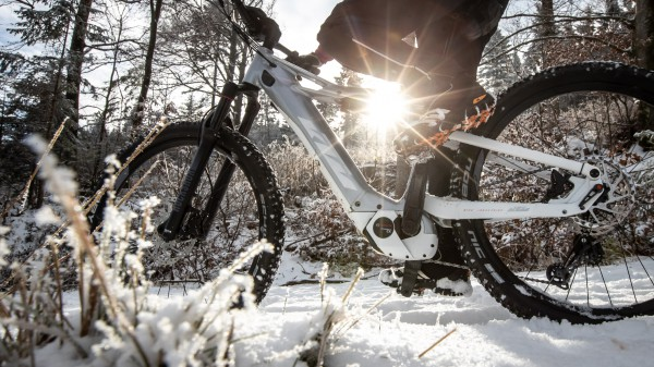 E-Biken im Winter