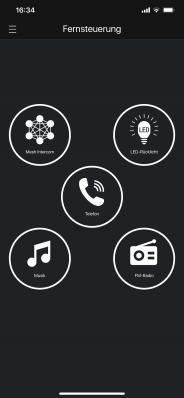 Fernsteuerung verschiedener Funktionen per Handy
