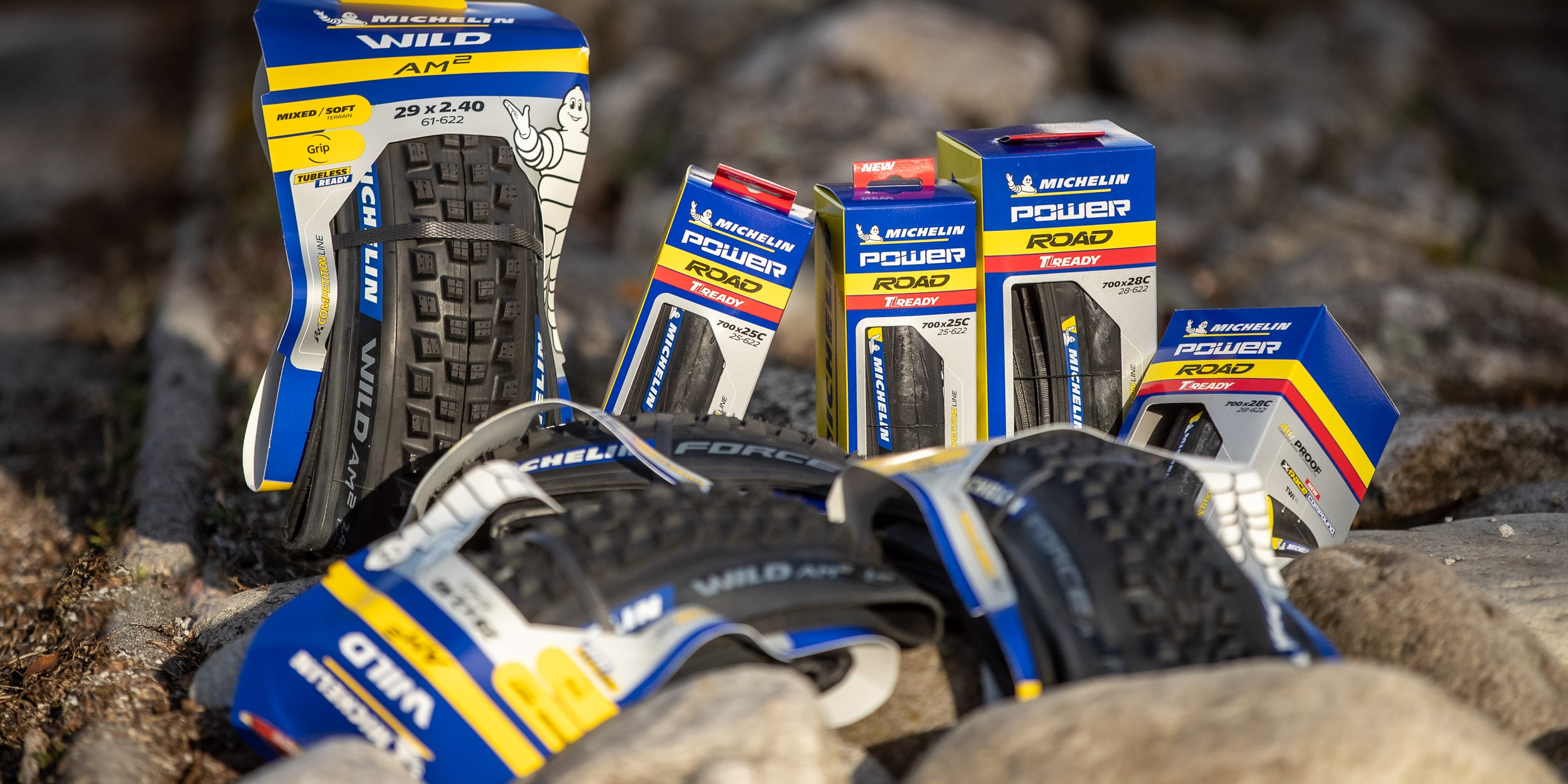 Michelin AM2 Competition & Power Road TLR