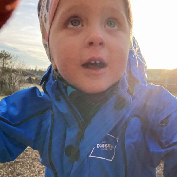 Fini sagt: Klettersteig-approved ...