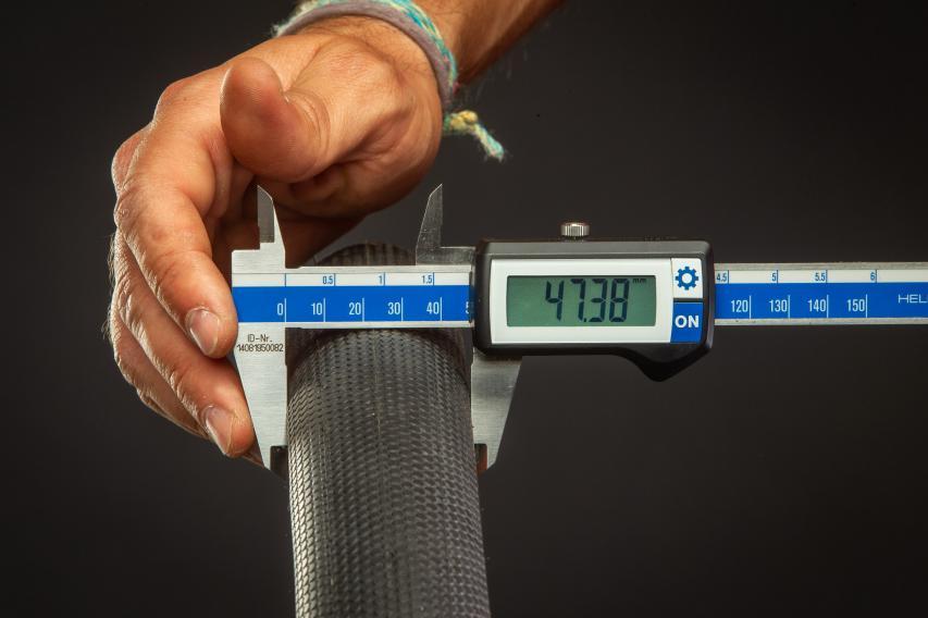 19 mm DT-Felgen 47,38 mm breit.