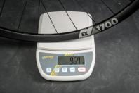 Gewicht Vorderrad