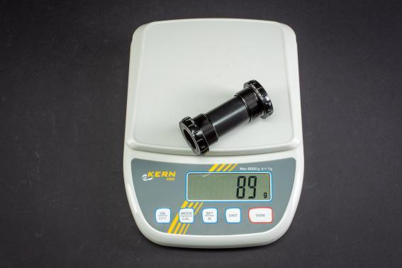 Gewicht Tretlager