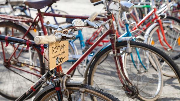 Fahrrad-Flohmarkt & Radparade