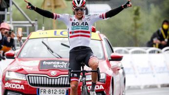 Patrick Konrad gewinnt Tour de France Etappe