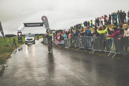 Weltrekordfeier auf Steirisch: