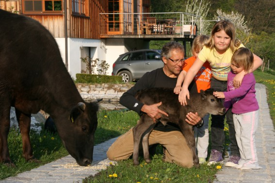 ... haben auch die Nachbar-Kinder ihre Freude.