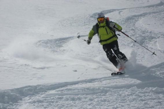 sondern auch begeisterter Skitourengeher.