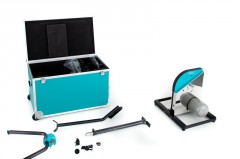 Bremsaggregat (Edelstahlgehäuse mit Kühlrippen; sehr schwer), sowie Kleinmaterial