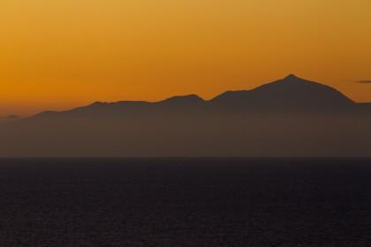 Teneriffa - der Teide in der Dämmerung