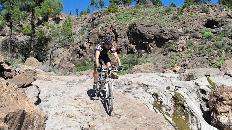 Felsige Trails