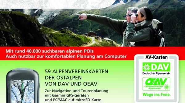 AV-Karten auf GPS