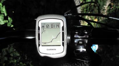 Edge 500 zum Navigieren im Wald