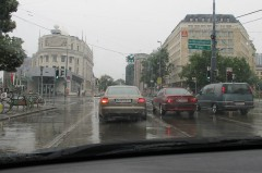 Regen am Ring...