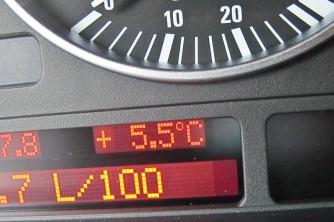 ergeben frische Temperaturen am Semmering