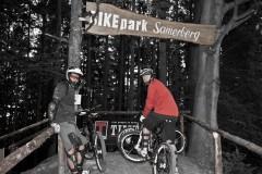 Schauplatz Samerberg: Mavic und Bikeboard entsenden ihre besten Männer.