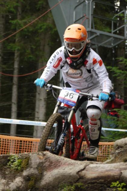 Elke Rabeder verpasste das Finale, wurde aber zweitbeste Österreicherin.