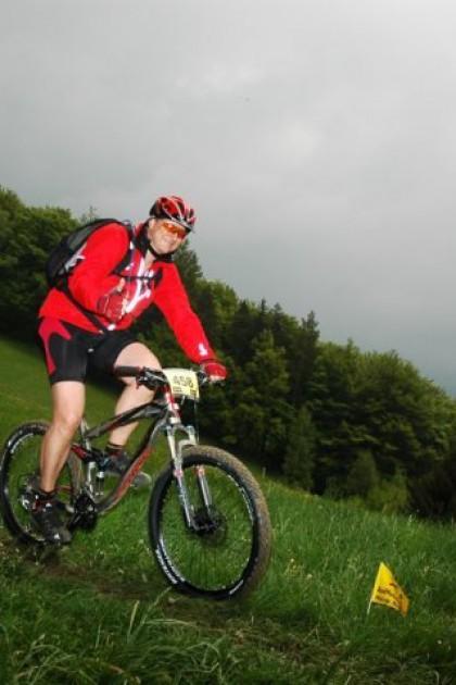 Günter Klein kam (nach St. Veit), sah (die Berge und Trails) und siegte (über sich selbst).